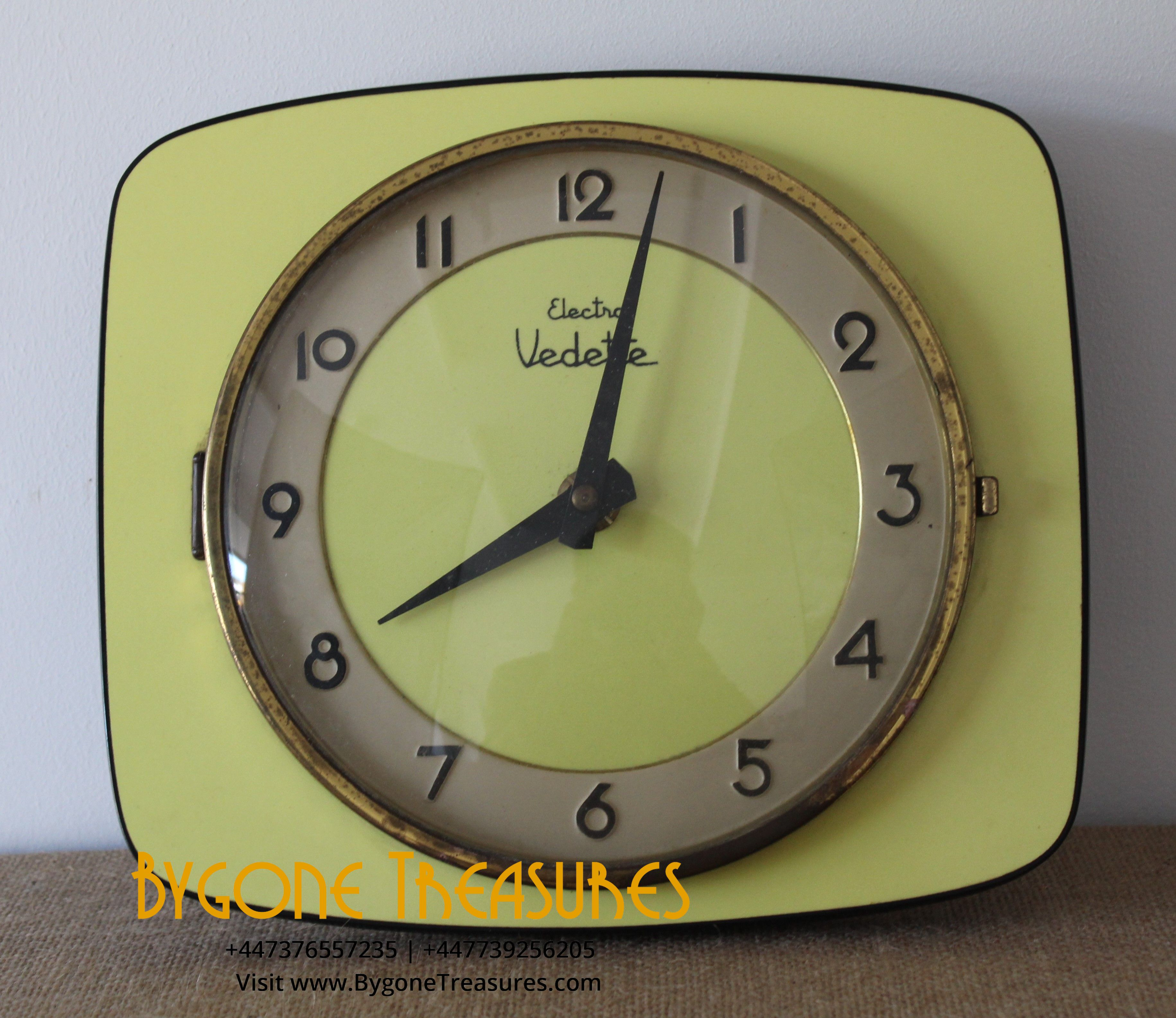 Electric Vedette Wall Clock (1)