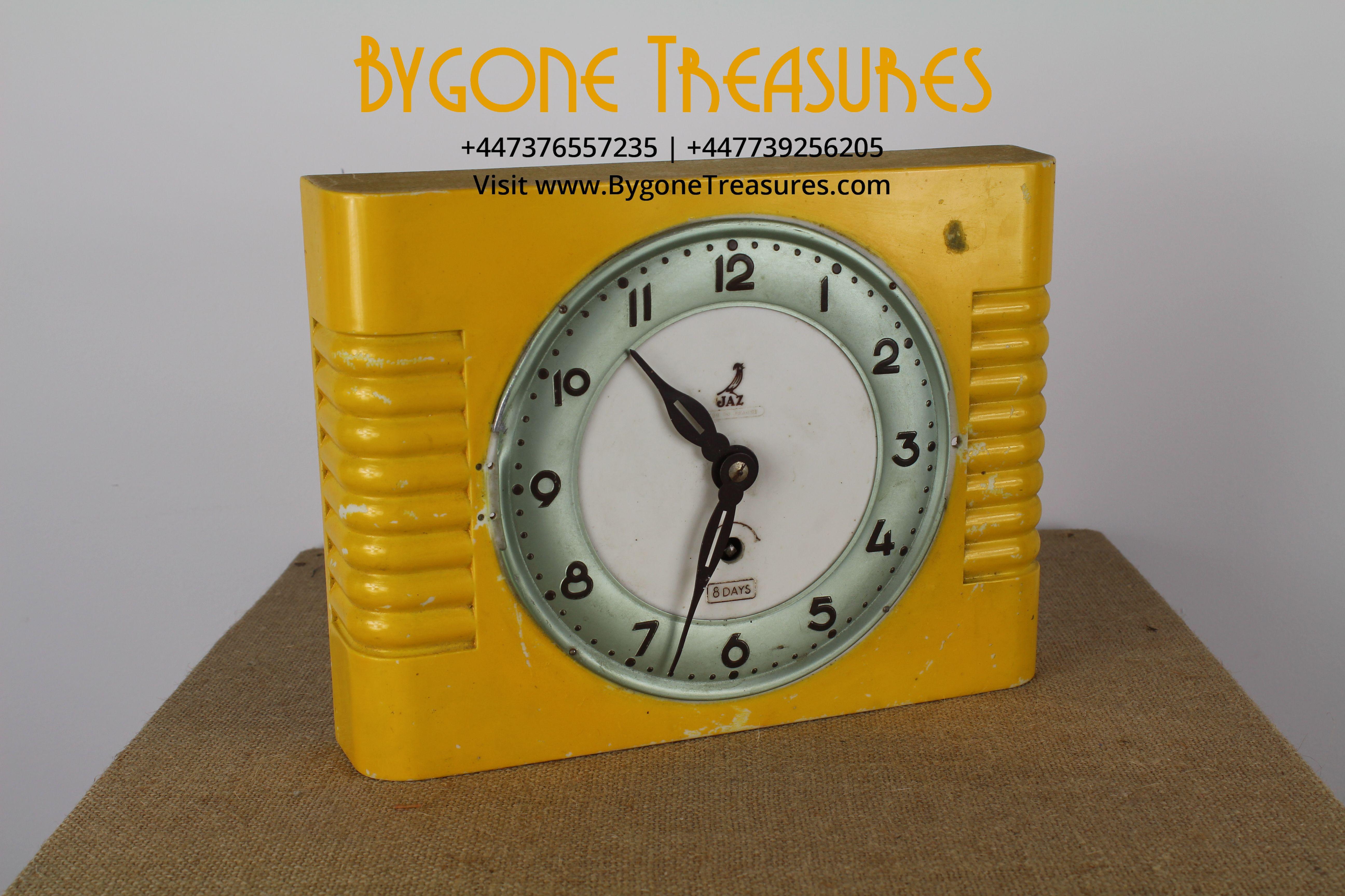 JAZ metal 1920's style wall clock (1)