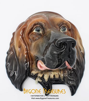 Beswick Red Setter Plaque 668 (4)