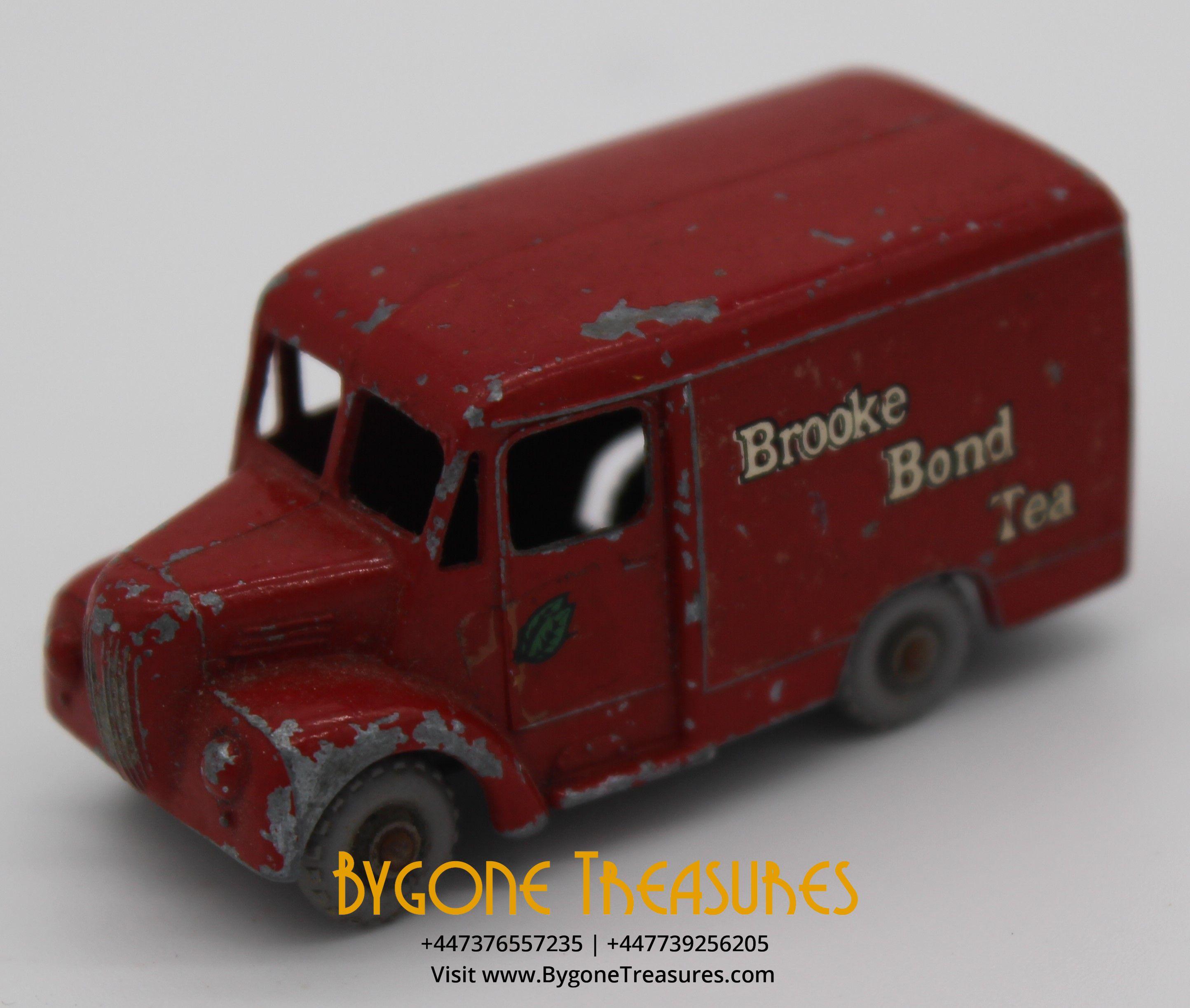 1 tonne trojan van lesney brooke bond tea (7)