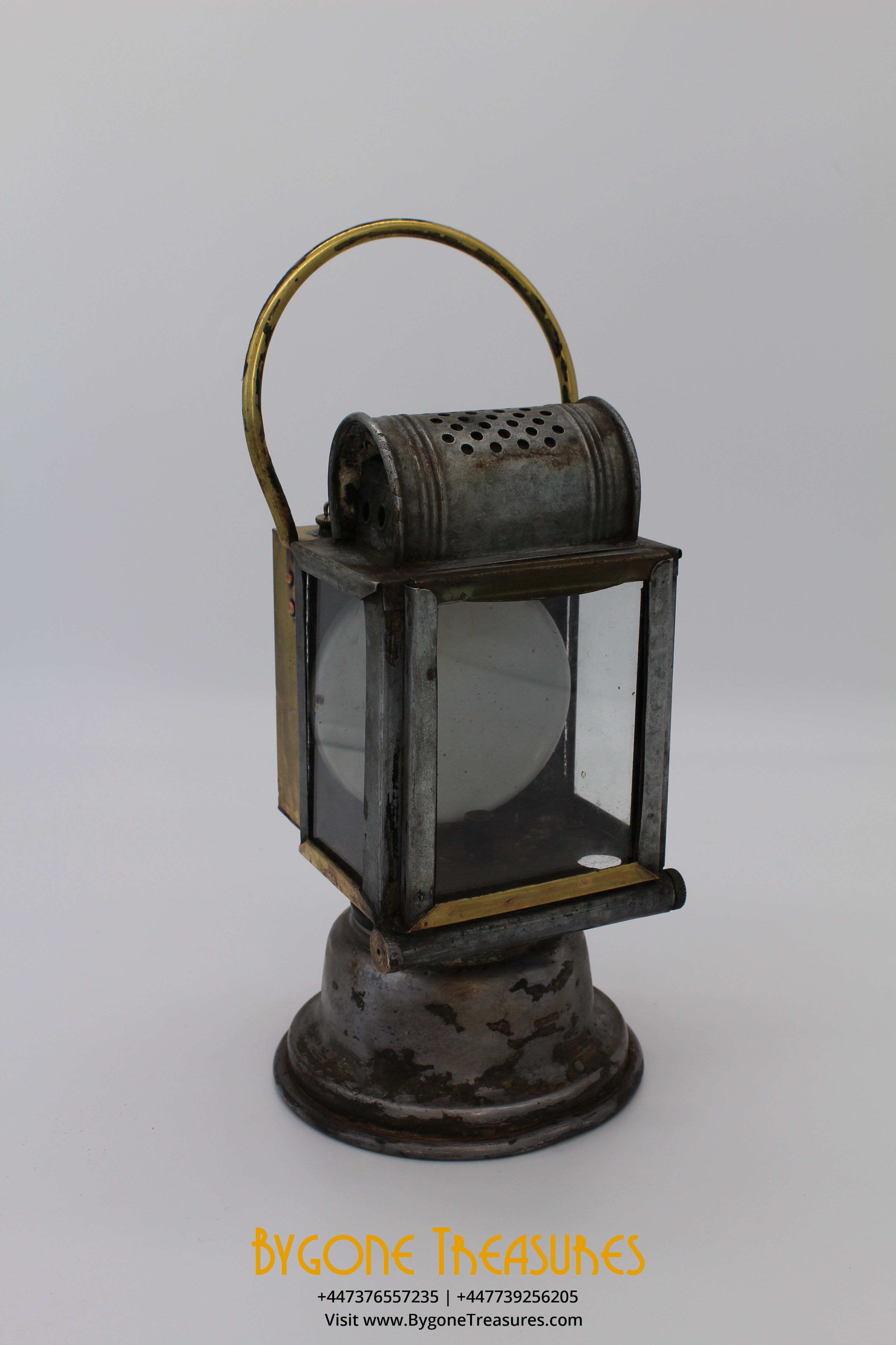 Antique train station lamp SNCF etablissement Albert Butin Paris (1)